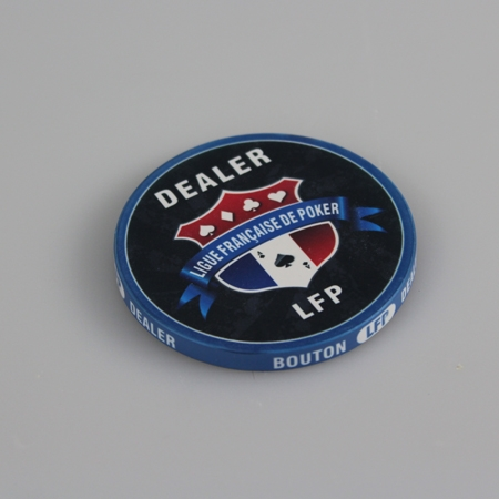Bouton Dealer/ Card guard - 60mm